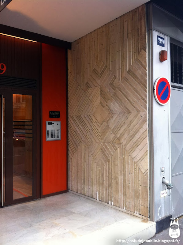 Paris 6ème - Immeuble , rue de Sèvre  Architecte:  Construction: