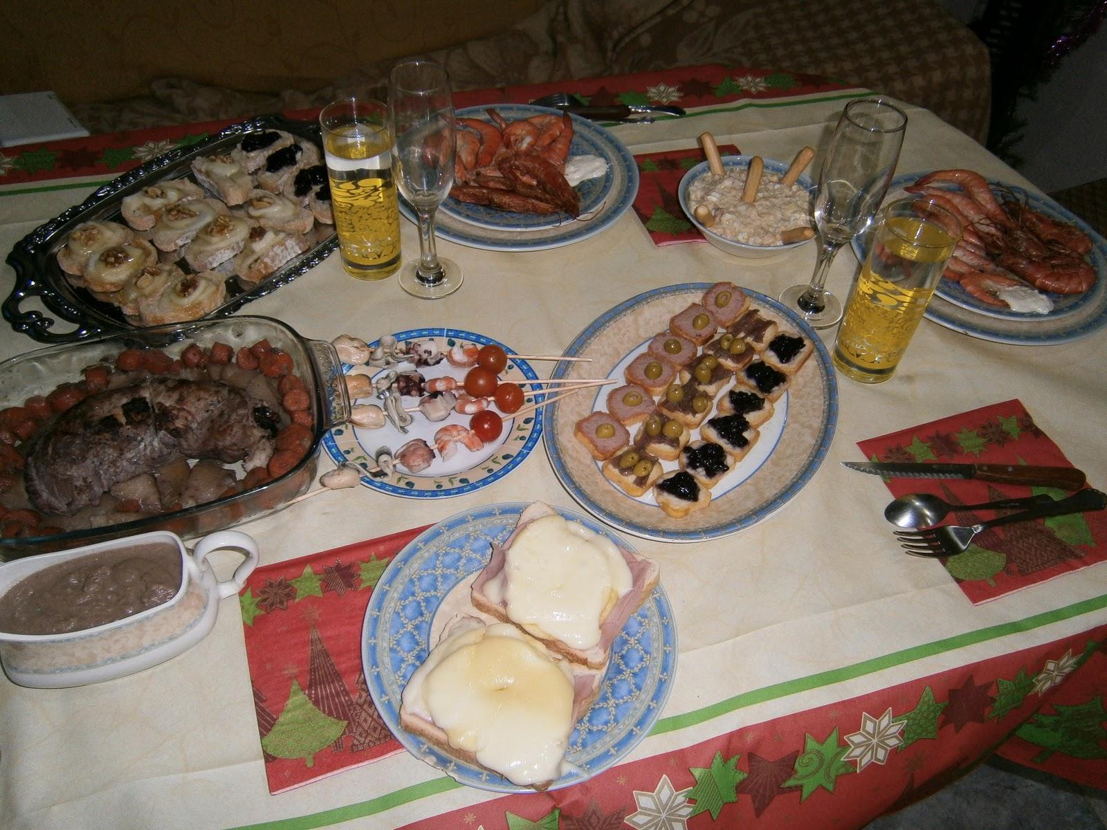 Nuestra cena de fin de a o 2011 cosas de animalillos - Cenas para fin de ano ...