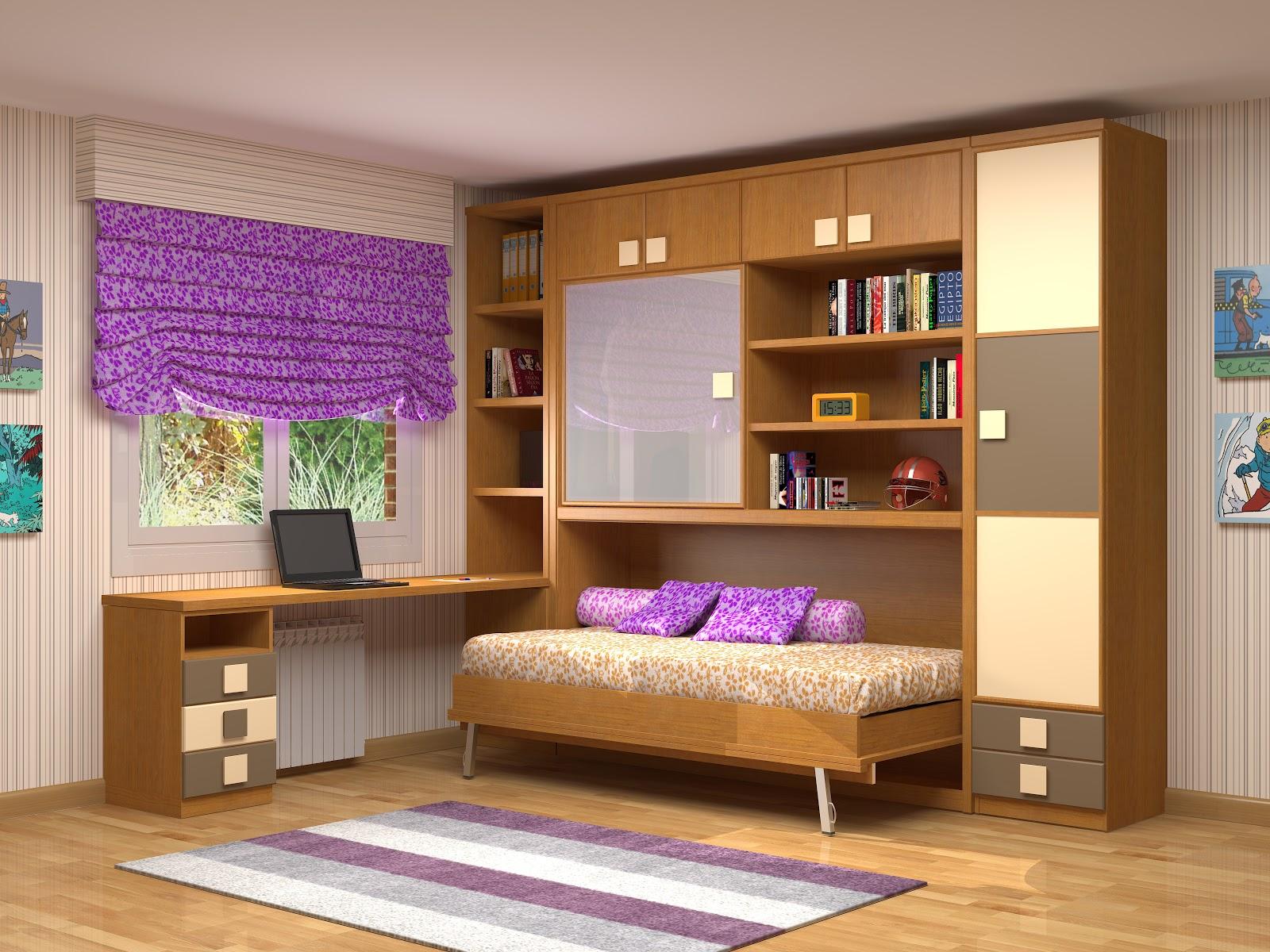 Muebles juveniles dormitorios infantiles y habitaciones for Armarios para habitaciones pequenas