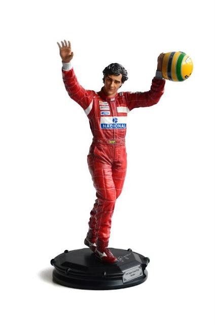 Estátua Ayrton Senna Iron Studios
