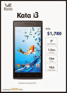 Kata Mobile i3 From Owtel Shop HK FB Page