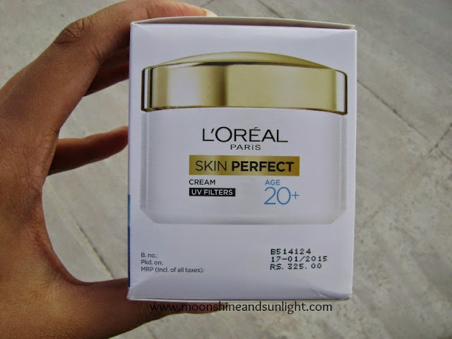 L'Oreal Paris Skin Perfect Age 20+ Day Cream    Review , Indian Beauty Blog