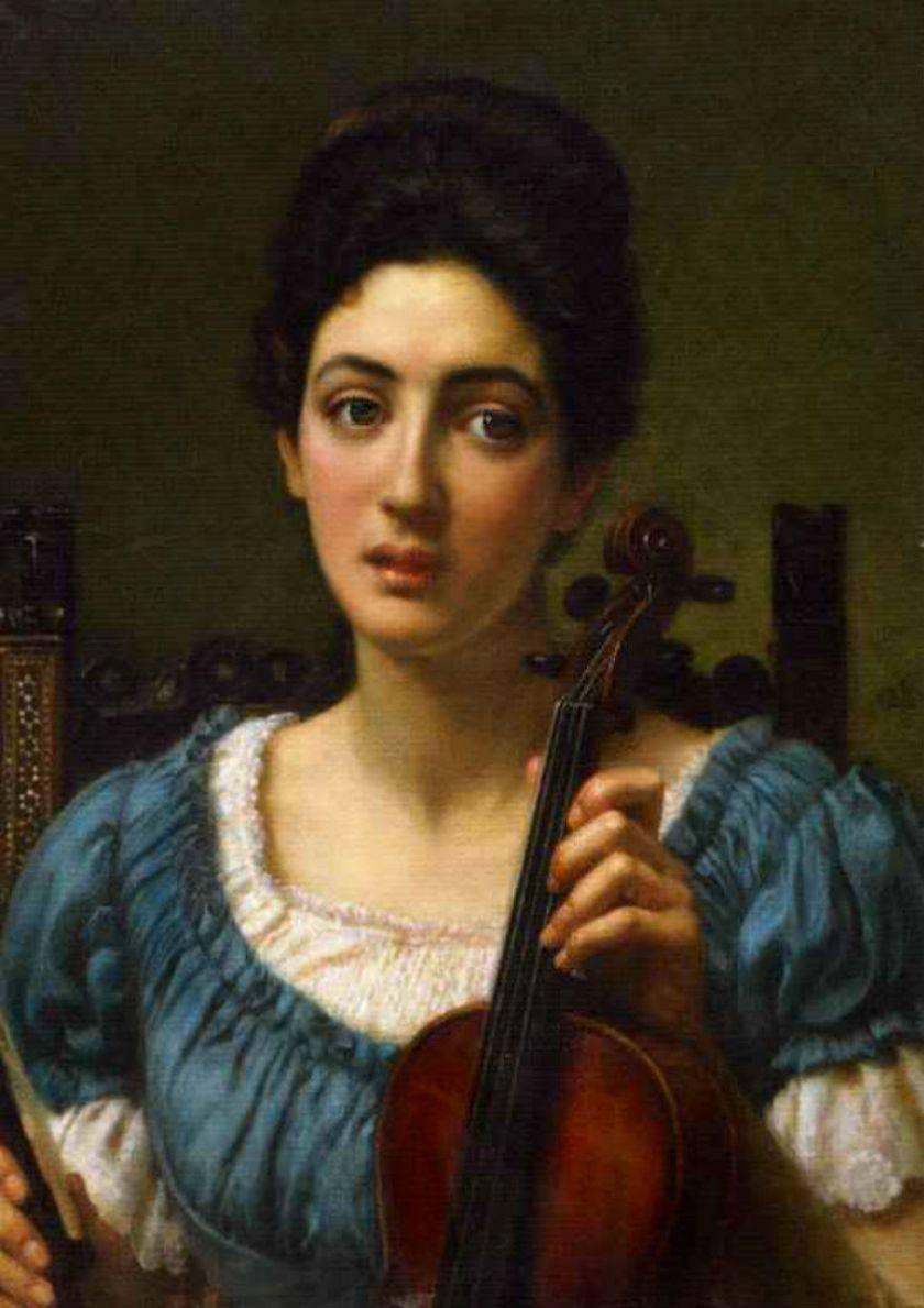 Arte Selección, Violín en la pintura