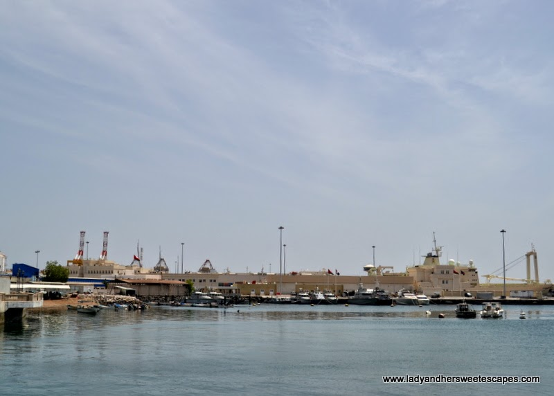 a portion of Muscat Port