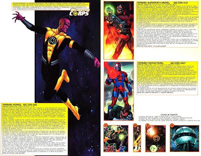 Sinestro Corps ficha dc comics