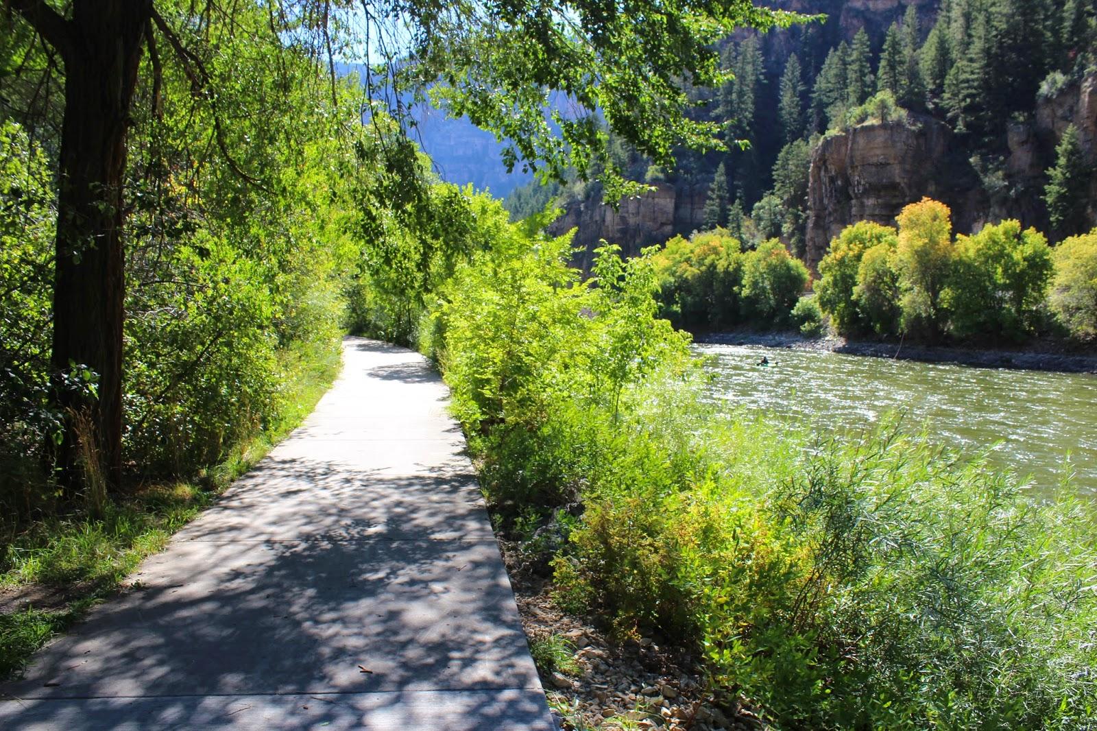 Glenwood Springs Elevation : Gjhikes glenwood canyon bike trail