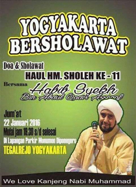 Update...Jadwal Habib Syekh Januari 2016