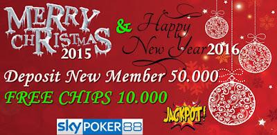 Freebet Terbaru - Freechip 10.000 dengan Deposit 50.000 - SkyPoker