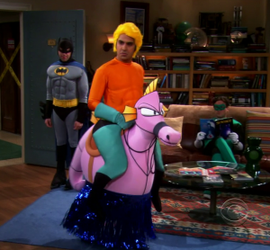 Aquaman Big Bang Theory Raj