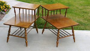 Vintage End Tables  *SOLD*
