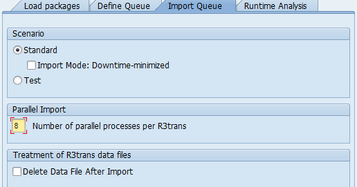 R3Trans Parallel process - How to Increase ? SPAM SAP SP ...