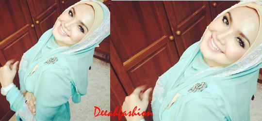 Jilbab ala Siti Nurhaliza MintChic