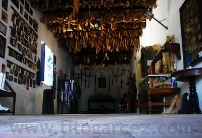 Visão geral da Sala dos Milagres, que abriga o Museu dos Ex-Votos, na Igreja da Ordem Terceira, mais conhecida como Igreja do Senhor dos Passos, em São Cristóvão - Sergipe