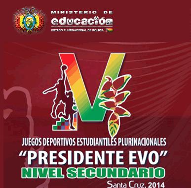 """Plurinacionales """"Presidente Evo"""" - 2014 - AMPLIAN PLAZO"""