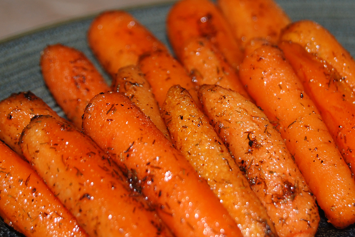 roasted carrots with lemon dressing thyme and honey roasted carrots ...