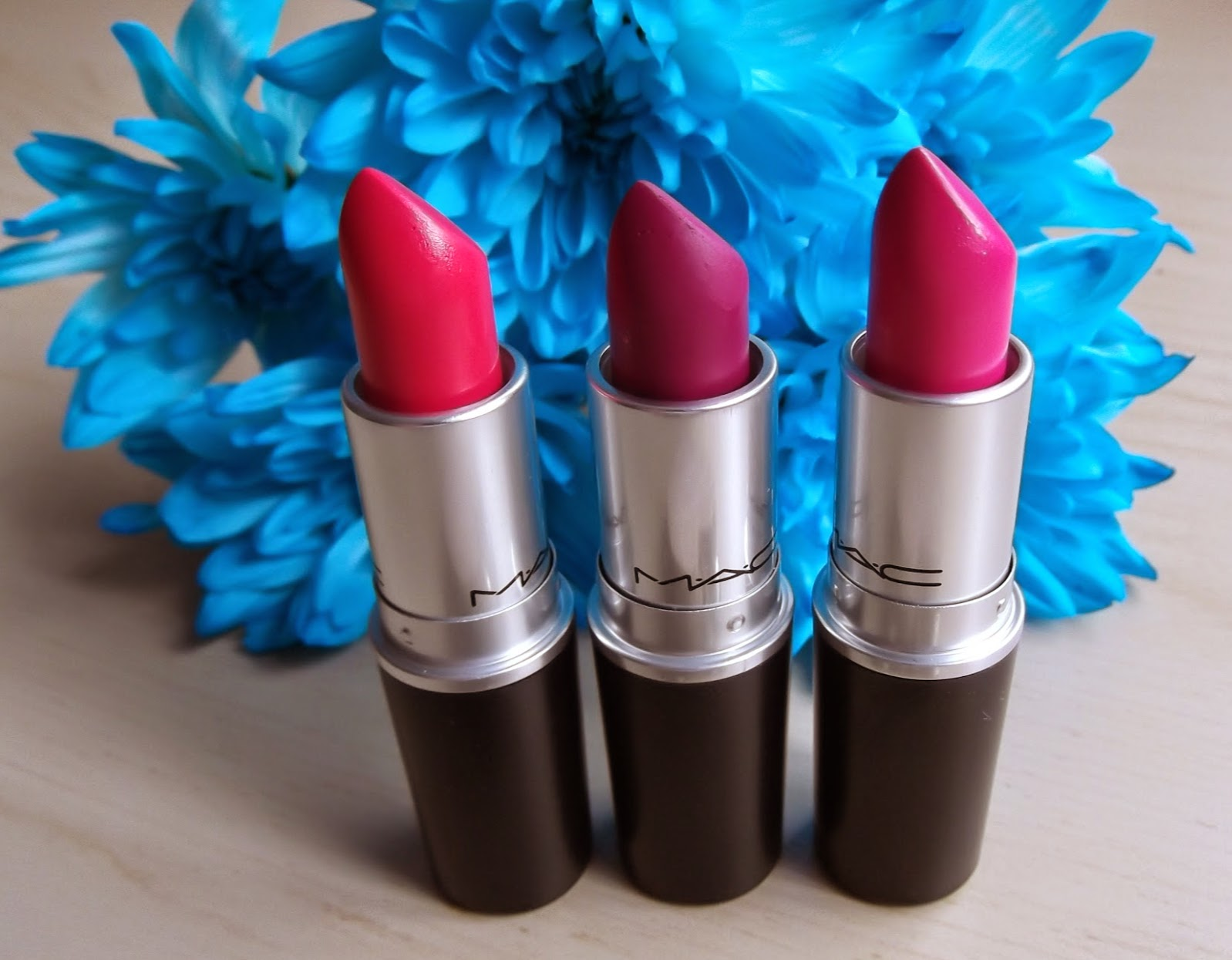MAC lipstick pinks birthday