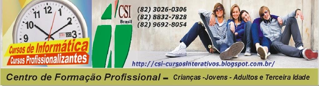 CSI-Brasil Cursos Interativos