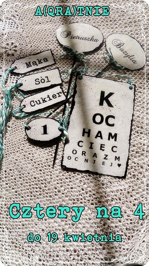 piękne tabliczki Qrki