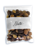 snack-size bag of nuts
