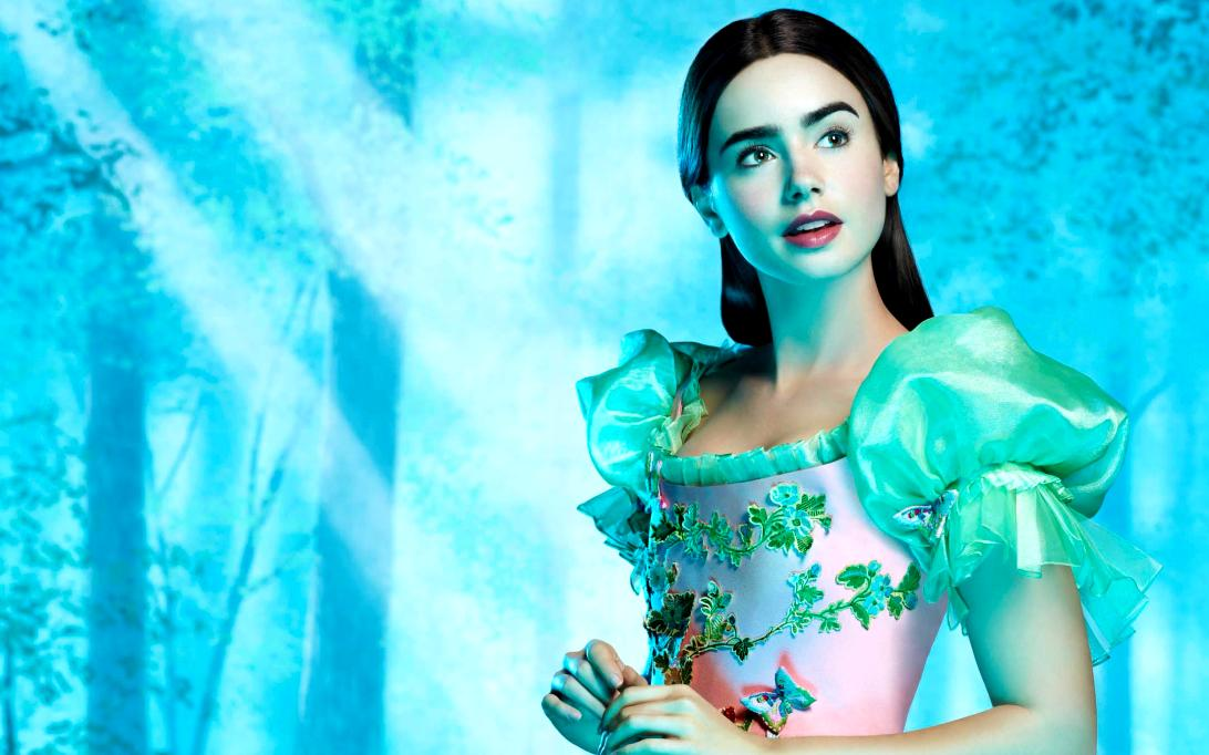 Lily Collins, Wallpaper Foto Artis Cantik 2