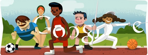 All Doodles Collection For Olympics 2012 From Google