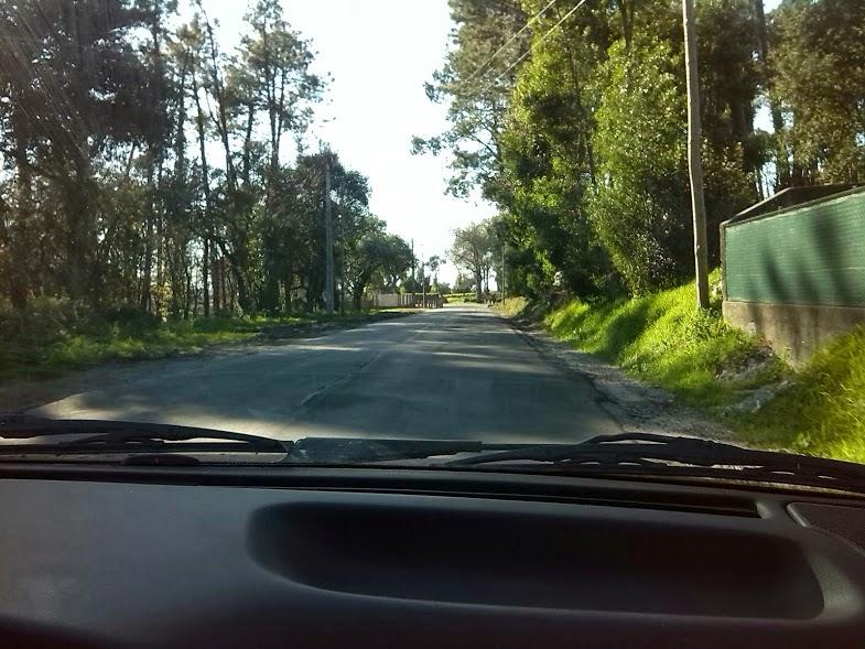 """Estrada EN305 - Zona do """"Sameiro"""""""