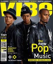 Portada del número de marzo/abril de la revista VIBE