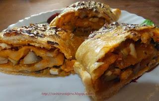Rulada cu ciuperci/ Empanada con setas