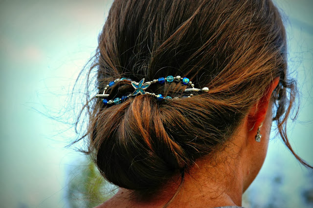 Lilla Roes, hair jewelry, hair,  Flexi Clip