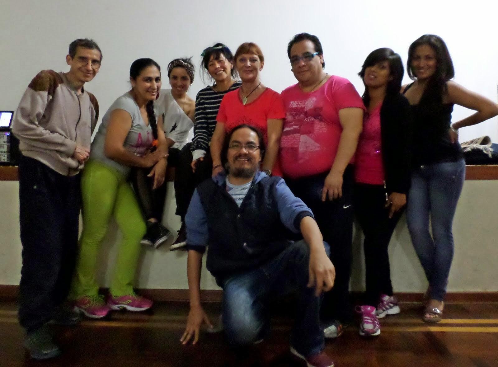 Seminario de Danzas Circulares - Lima, noviembre 2014