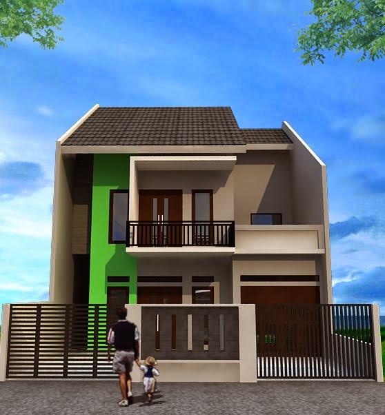 model desain rumah minimalis sederhana modern tropis 2014