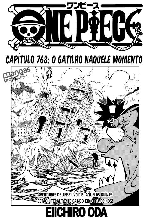 One Piece Mangá 768 Online
