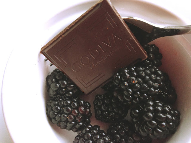 godiva chocolate blackberries