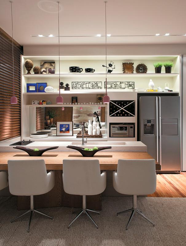 decoracao cozinha loft:Centenarte Móveis e Decoração: Espaço Gourmet
