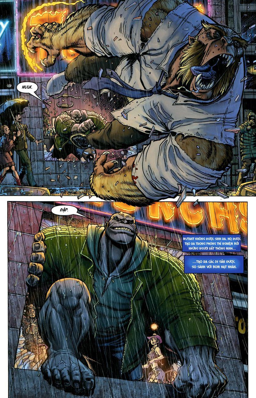 TruyenHay.Com - Ảnh 12 - Ultimate Comics X Chap 5