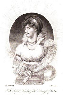 Caroline, Princess of Wales  from La Belle Assemblée (1806)