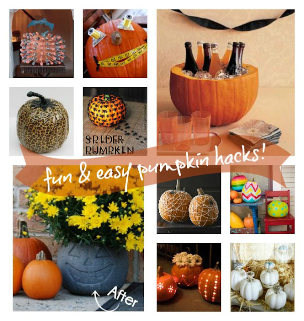 While I'm Waiting...fun & easy pumpkin hacks