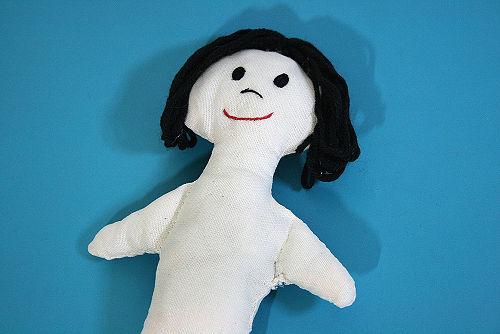 como hacer una muñeca de trapo paso a paso