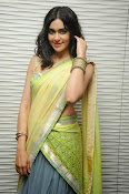 Adah sharma glam pics in saree-thumbnail-5