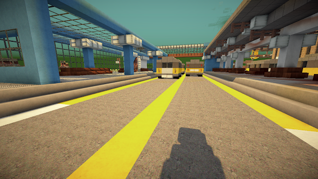 Bus Station  - Minecraft Metropolis