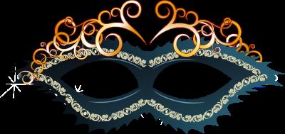 Máscara Carnaval PNG - Arabescos