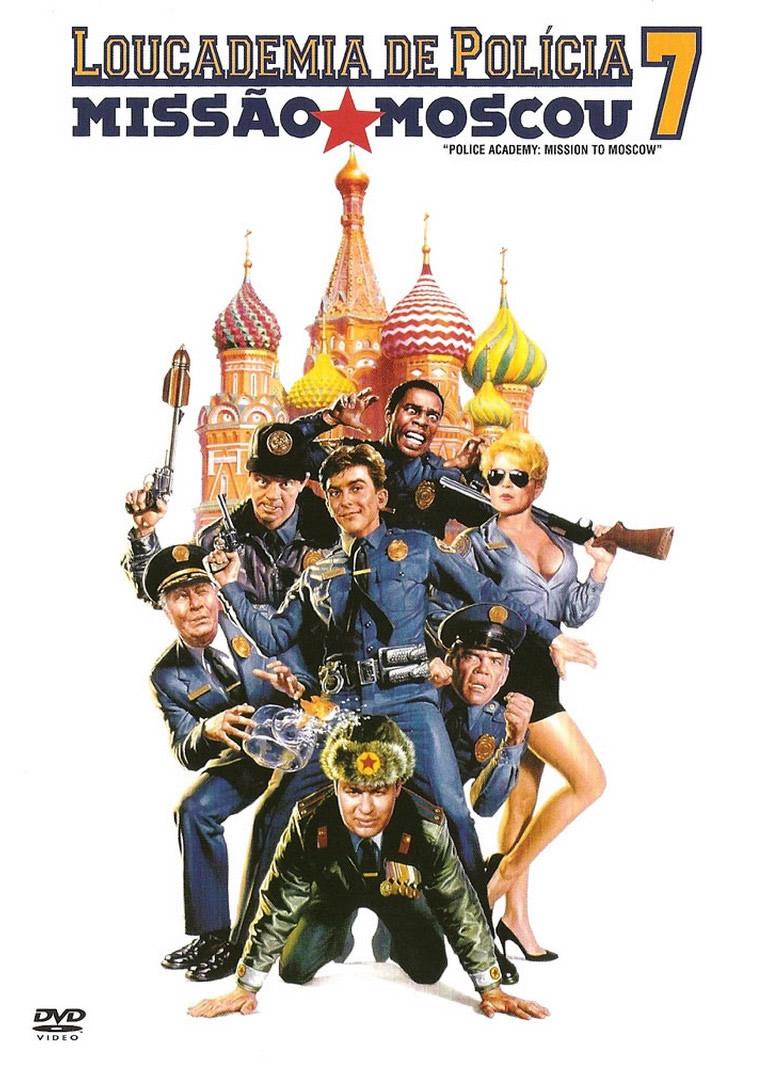 Loucademia de Polícia 7: Missão Moscou Dublado