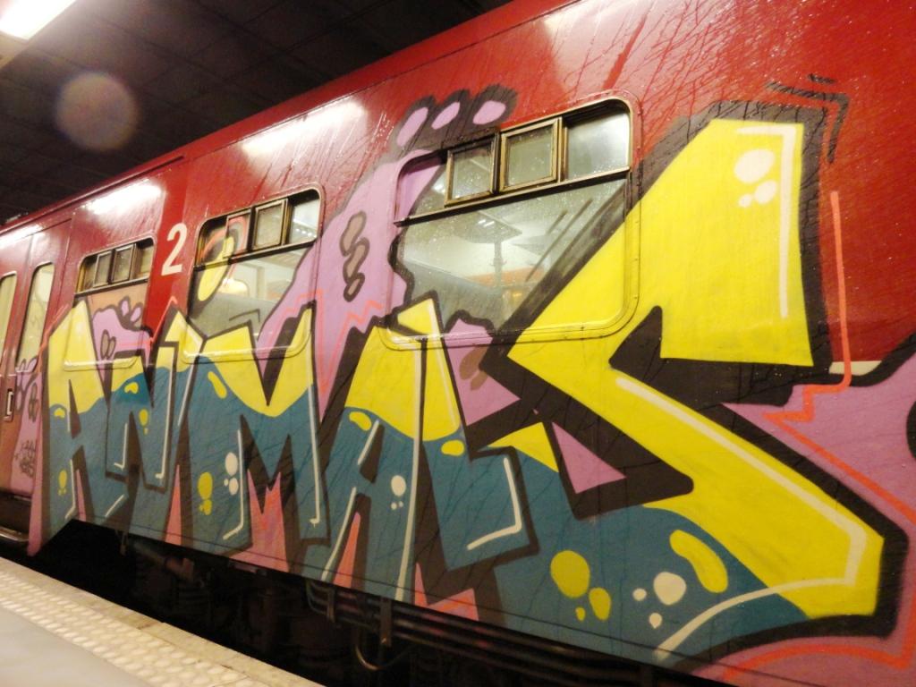 Graffiti art animals - Af Necst Animals Necst Animals Af