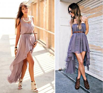 Dicas de Looks & Makes: Mullet Dress