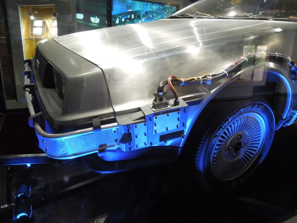DeLorean Time Machine detail