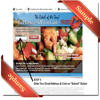 Red Lobster Coupon 2012