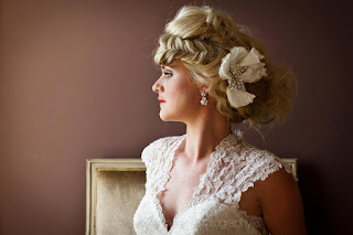 Best Wedding Hairdressers for this lovely Bride.The Bridal Wedding Hair was by Louise Chrystal,