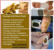 GINSENG DETOX PATCH