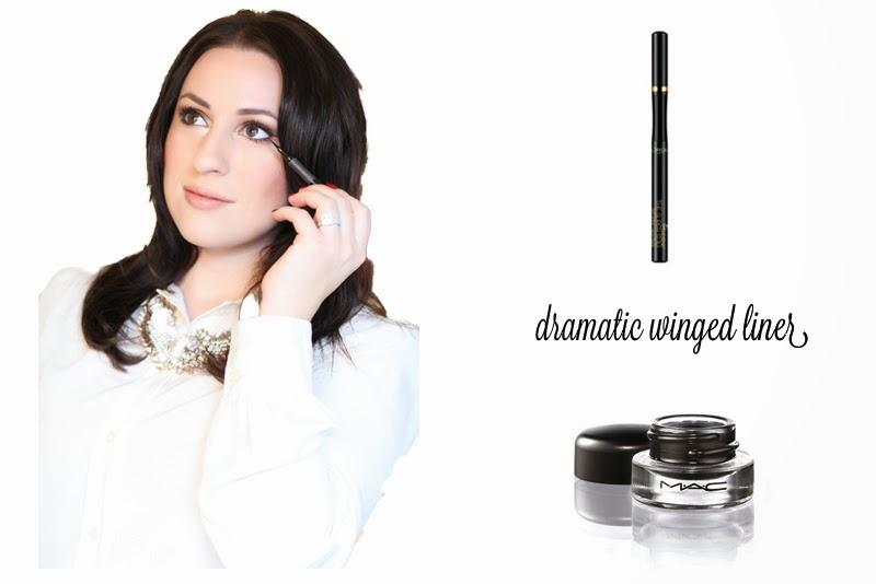 loreal-super-slim-eyeliner-mac-fluidline-dramatic-winged-eyeliner-holiday-glam-makeup-tutorial-king-and-kind-blog