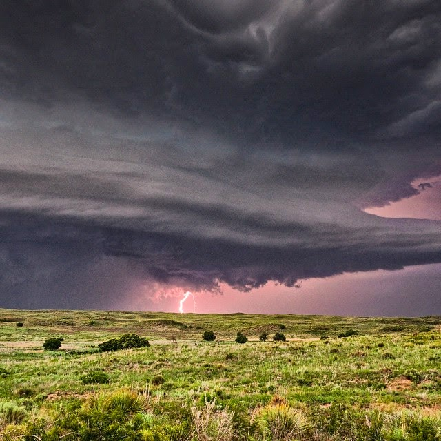 Waco Post Shore : Texas panhandle supercell june